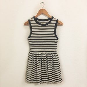 Urban Outfitters • striped eyelet mini dress